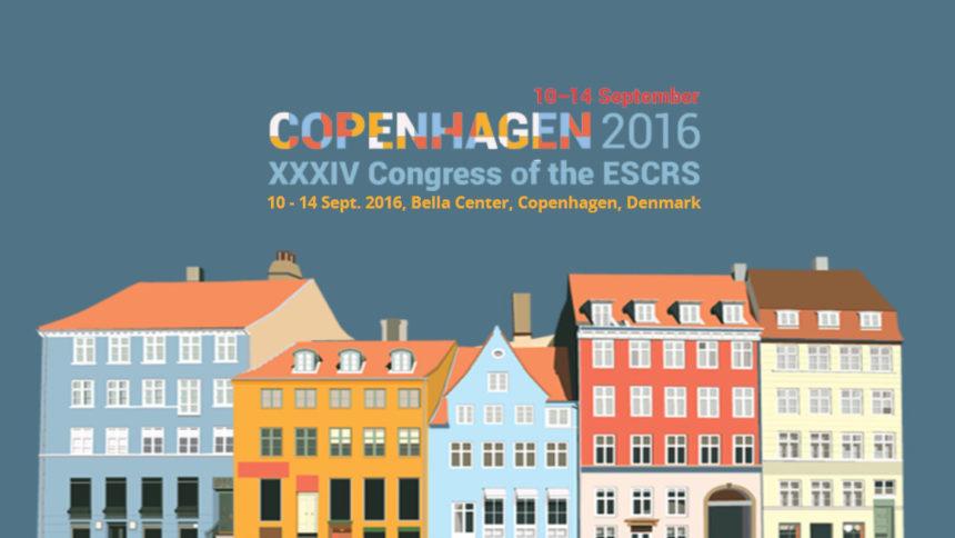 XXXIV Congresso Internazionale ESCRS a Copenhagen