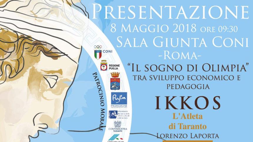 iVis al fianco di Ikkos, un grande medico ed atleta oggi simbolo della rinascita di Taranto