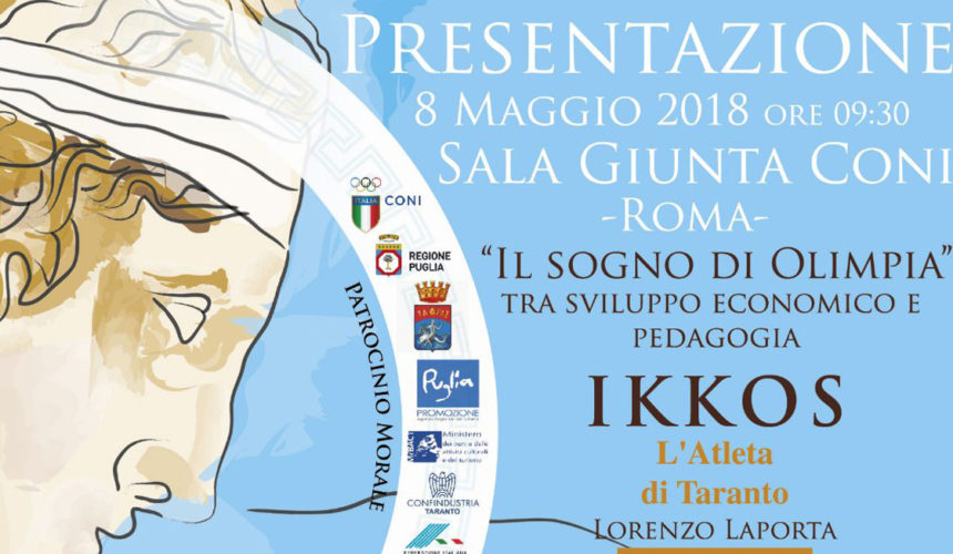 iVis stands by Ikkos, a great physician and athlete who is today a symbol of Taranto rebirth.