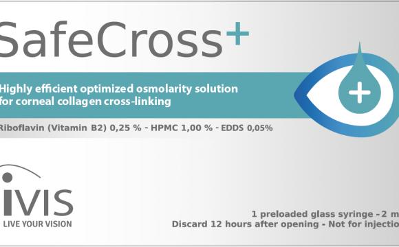 SafeCross®+ Riboflavin Solution